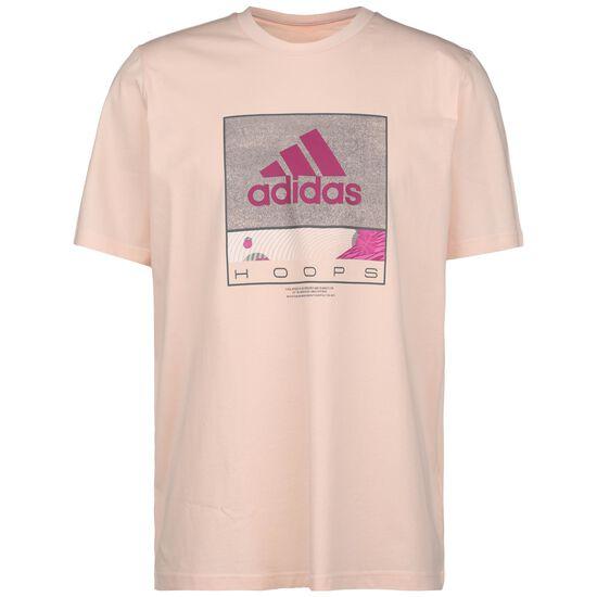 Future Hoop T-Shirt Herren, altrosa / pink, zoom bei OUTFITTER Online