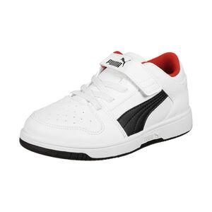 Rebound Lay Up SL Sneaker Kinder, weiß / schwarz, zoom bei OUTFITTER Online