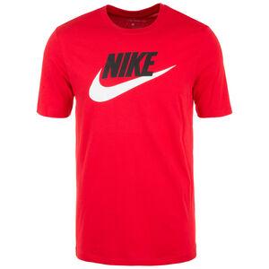 Icon Futura T-Shirt Herren, rot / schwarz, zoom bei OUTFITTER Online
