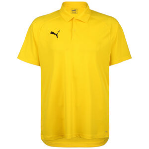 Liga Sideline Poloshirt Herren, neongelb / schwarz, zoom bei OUTFITTER Online