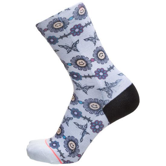 Daisy Chain Socken Damen, grau / weiß, zoom bei OUTFITTER Online