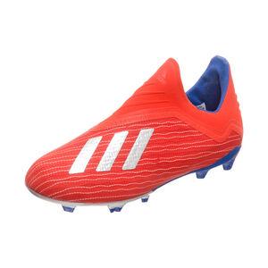 X 18+ FG Fußballschuh Kinder, rot / blau, zoom bei OUTFITTER Online