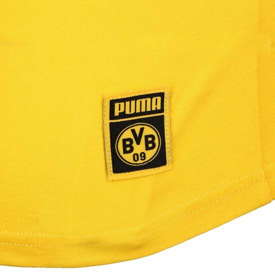 Borussia Dortmund BVB ftblCore Wording T-Shirt Damen, gelb / schwarz, zoom bei OUTFITTER Online