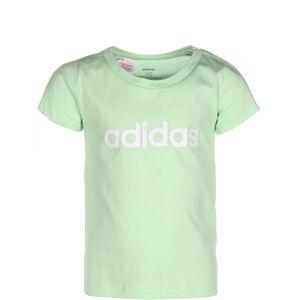 Essentials Linear T-Shirt Kinder, grün / weiß, zoom bei OUTFITTER Online