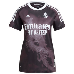 Real Madrid Human Race FC Trikot Damen, schwarz / weiß, zoom bei OUTFITTER Online