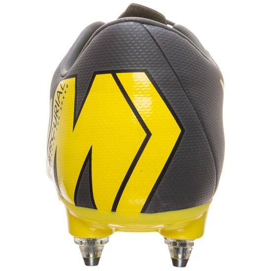 Mercurial Vapor XII Academy SG-Pro Fußballschuh Herren, dunkelgrau / gelb, zoom bei OUTFITTER Online