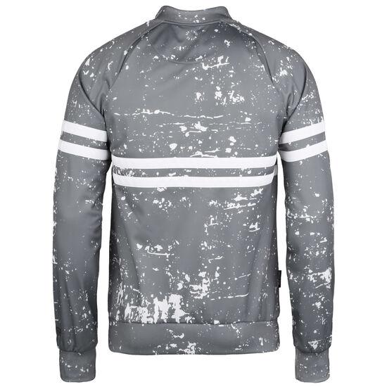 DMWU Sweatshirtjacke Herren, grau / weiß, zoom bei OUTFITTER Online