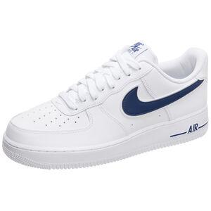 Air Force 1 '07 Sneaker Herren, weiß / blau, zoom bei OUTFITTER Online