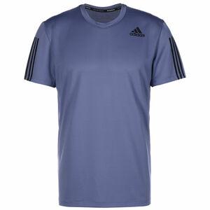 Primeblue AEROREADY 3-Streifen Trainingsshirt Herren, flieder / schwarz, zoom bei OUTFITTER Online