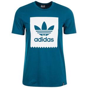 Trefoil Solid T-Shirt Herren, petrol / weiß, zoom bei OUTFITTER Online