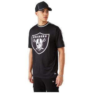 NFL Las Vegas Raiders Taping Oversized T-Shirt Herren, schwarz / weiß, zoom bei OUTFITTER Online