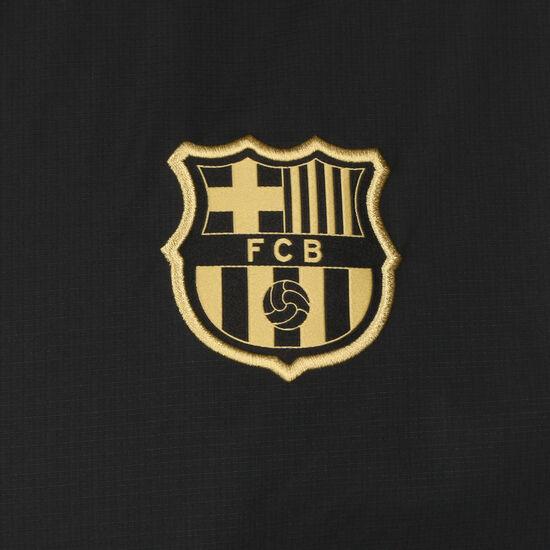 FC Barcelona Trainingsjacke Herren, schwarz / gold, zoom bei OUTFITTER Online
