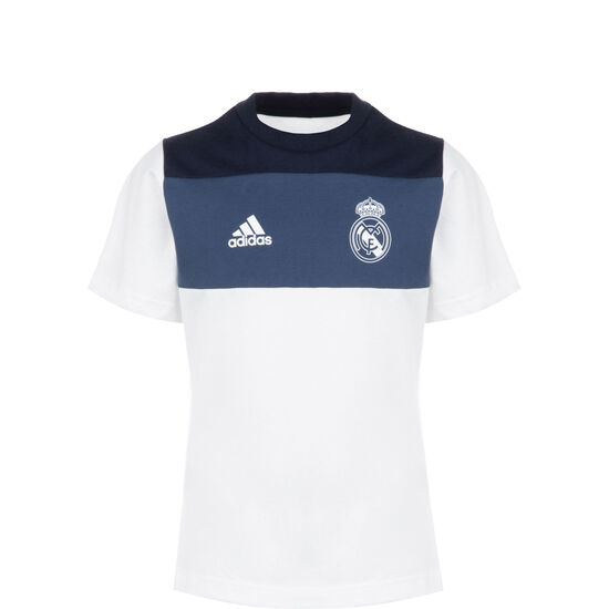 Real Madrid Graphic T-Shirt Kinder, weiß / blau, zoom bei OUTFITTER Online