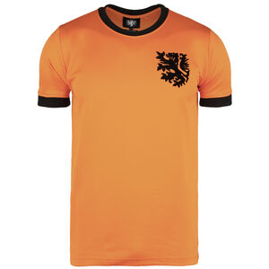 Niederlande World Cup 1978 Retro T-Shirt Herren, orange / schwarz, zoom bei OUTFITTER Online