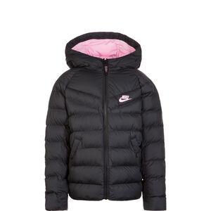 Filled Winterjacke Kinder, schwarz / rosa, zoom bei OUTFITTER Online