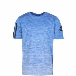 Gradient Trainingsshirt Kinder, blau / weiß, zoom bei OUTFITTER Online