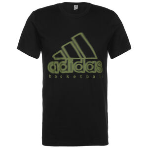 Wanted Logo Basketballshirt Herren, schwarz, zoom bei OUTFITTER Online