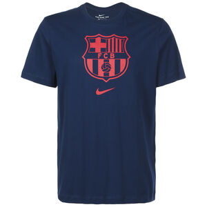 FC Barcelona Evergreen Crest 2 T-Shirt Herren, dunkelblau / rot, zoom bei OUTFITTER Online