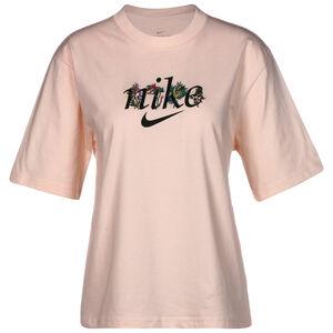 Boxy Nature T-Shirt Damen, rosa / schwarz, zoom bei OUTFITTER Online