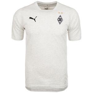 Borussia Mönchengladbach Casuals T-Shirt Herren, hellgrau / schwarz, zoom bei OUTFITTER Online