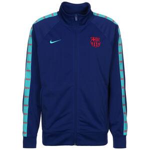 FC Barcelona JDI Tape Trainingsjacke Herren, dunkelblau / türkis, zoom bei OUTFITTER Online