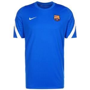 FC Barcelona Strike Trainingsshirt Herren, blau / weiß, zoom bei OUTFITTER Online