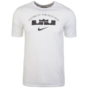 LeBron James Block Party Basketballshirt Herren, Weiß, zoom bei OUTFITTER Online