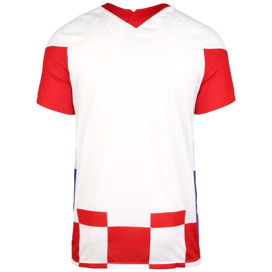 Kroatien Trikot Home Stadium EM 2021 Herren, weiß / rot, zoom bei OUTFITTER Online