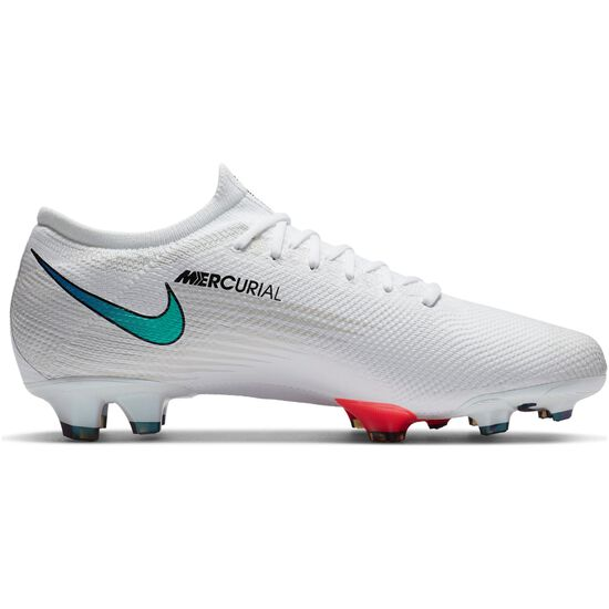 Mercurial Vapor 13 Pro FG Fußballschuh Herren, weiß / neonrot, zoom bei OUTFITTER Online