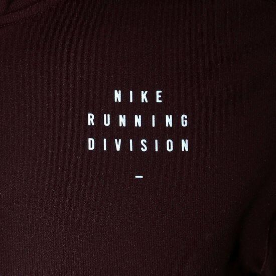 Run Division Element Graphic Laufsweat Herren, bordeaux / silber, zoom bei OUTFITTER Online