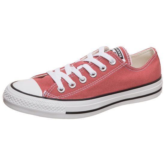 Chuck Taylor All Star Ox Low Top Sneaker, rot, zoom bei OUTFITTER Online