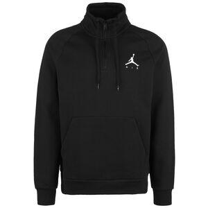 Jordan Jumpman Fleece 1/2 Zip Sweatshirt Herren, schwarz / weiß, zoom bei OUTFITTER Online