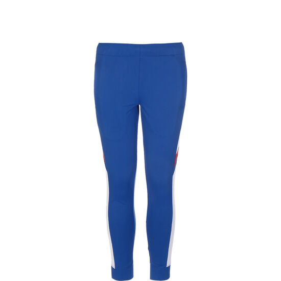 Woven Overlay Jogginganzug Kinder, blau / weiß, zoom bei OUTFITTER Online