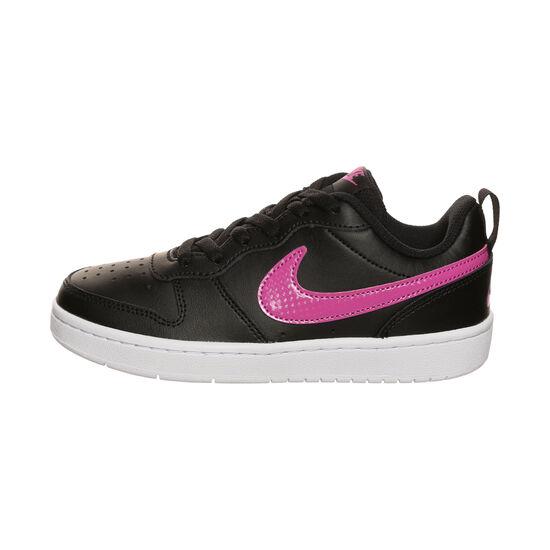 Court Borough Low 2 Sneaker Kinder, schwarz / pink, zoom bei OUTFITTER Online