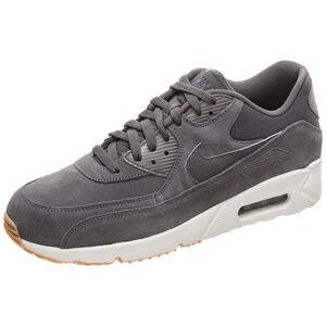 Air Max 90 Ultra 2.0 Leather Sneaker Herren, grau / beige, zoom bei OUTFITTER Online