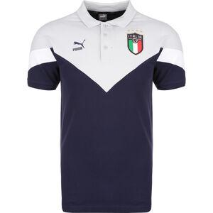 FIGC Italien Iconic MCS Poloshirt EM 2020 Herren, blau / lila, zoom bei OUTFITTER Online