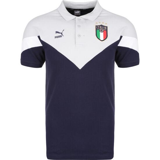 Italien Iconic MCS Poloshirt EM 2021 Herren, blau / lila, zoom bei OUTFITTER Online