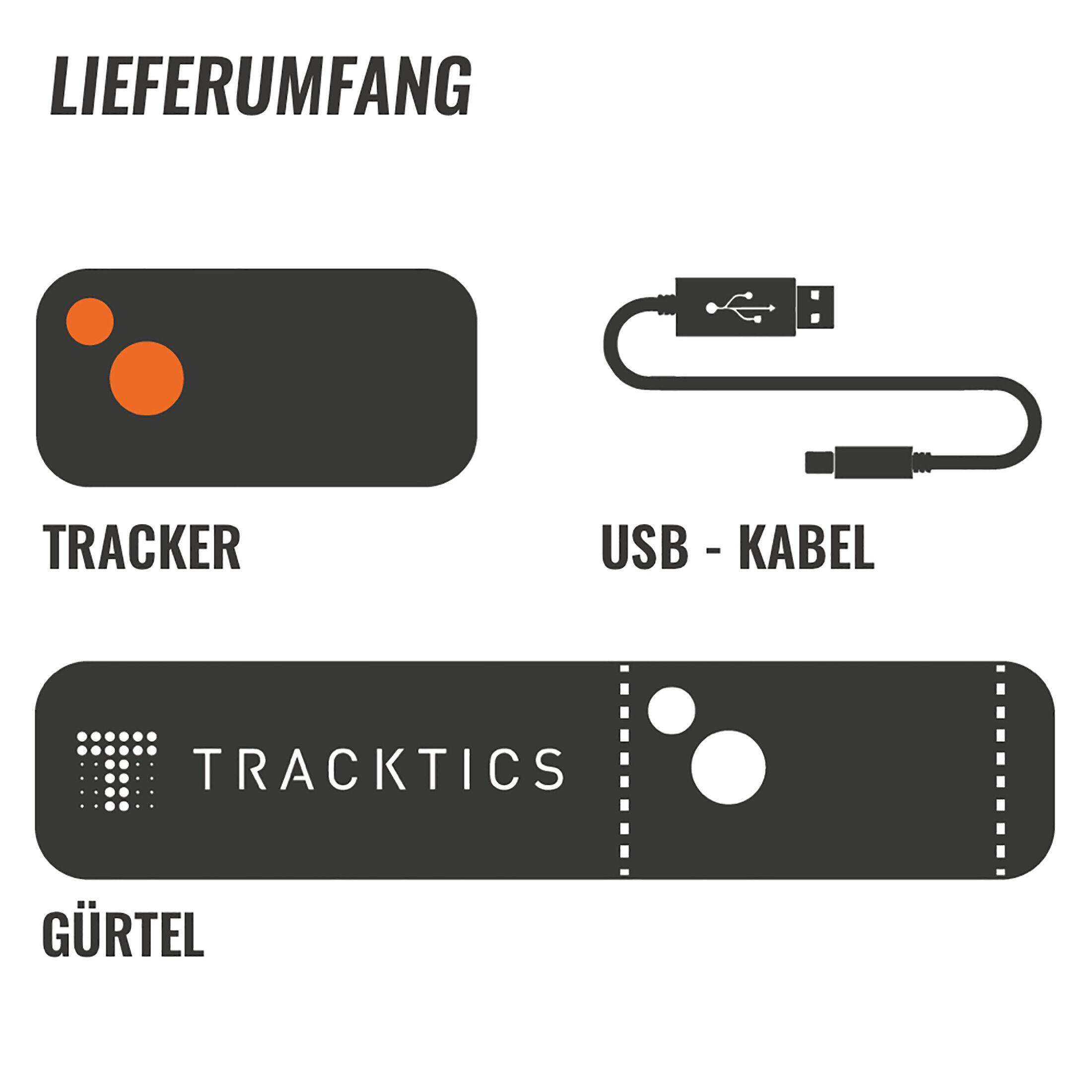 Tracktics GPS Fußball Tracker