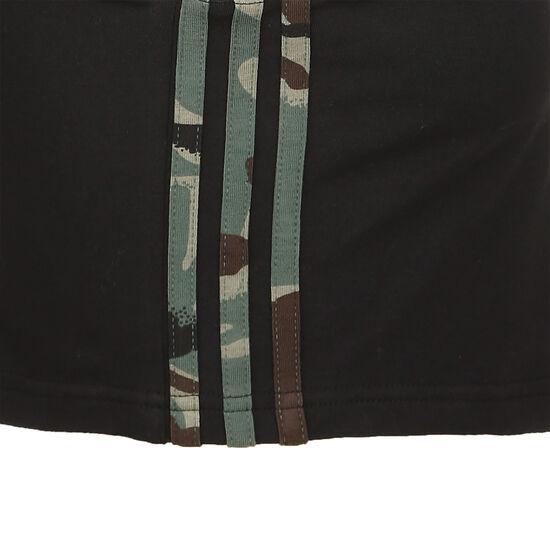 Essentials 3-Streifen Cropped Tanktop Damen, schwarz, zoom bei OUTFITTER Online