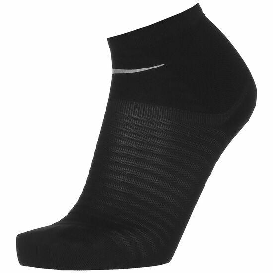 Spark Lightweight Ankle Laufsocken, schwarz / silber, zoom bei OUTFITTER Online