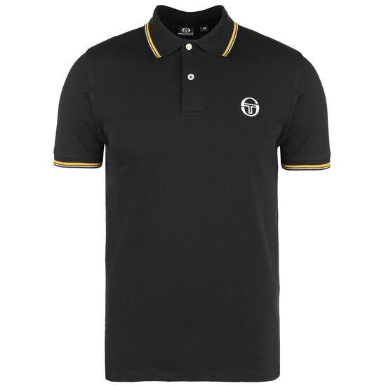Sergio Poloshirt Herren, schwarz / gelb, zoom bei OUTFITTER Online