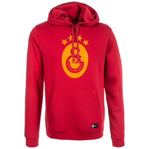 Galatasaray Istanbul Crest Kapuzenpullover Herren, Rot, zoom bei OUTFITTER Online