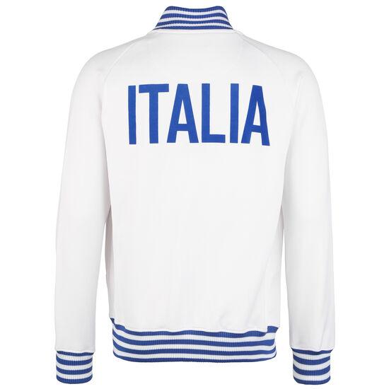Italien 1982 Retro Trainingsjacke Herren, weiß / blau, zoom bei OUTFITTER Online