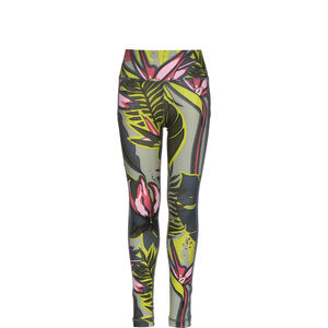 Aeroready AOP Tight Kinder, grau / bunt, zoom bei OUTFITTER Online