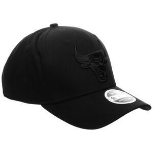 9FIFTY NBA Chicago Bulls Black On Black Stretch Snapback Cap, schwarz, zoom bei OUTFITTER Online