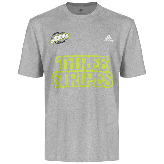 Athletics Lucky 8  T-Shirt Herren, grau / bunt, zoom bei OUTFITTER Online