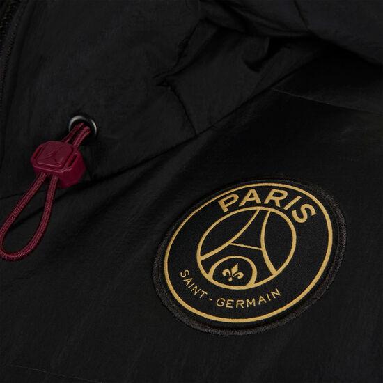 Paris St.-Germain Solid Daunenjacke Herren, schwarz / gold, zoom bei OUTFITTER Online