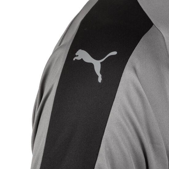 Liga Fußballtrikot Kinder, grau / schwarz, zoom bei OUTFITTER Online