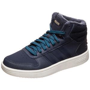 Hoops Mid 2.0 Sneaker Damen, dunkelblau / weiß, zoom bei OUTFITTER Online