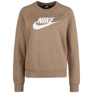 Essential Crew Sweatshirt Damen, beige / weiß, zoom bei OUTFITTER Online